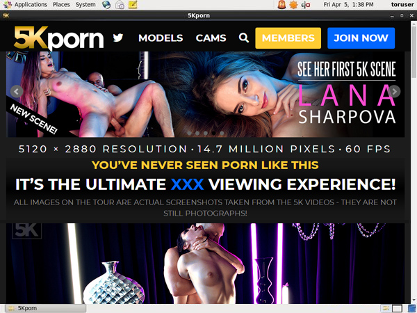 5K Porn Login Information
