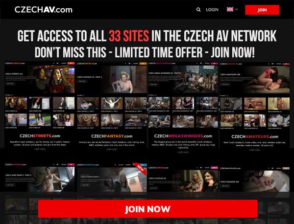 Czech AV Sign Up Form
