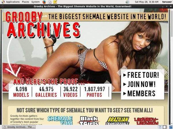 Grooby-archives.com Limited Sale