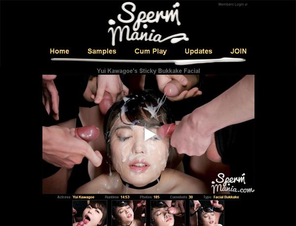 Sperm Mania Mail Order