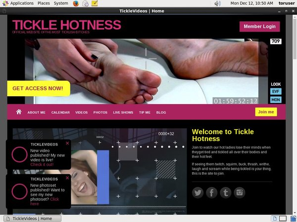 TICKLE HOTNESS Sex Movies