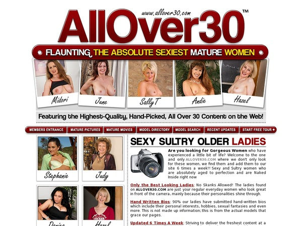 Allover30 Paypal Signup