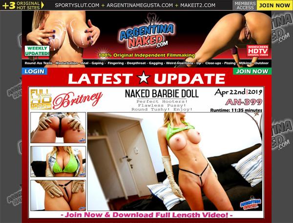 Argentina Naked Hot Sex