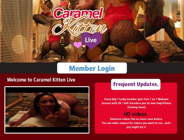 Caramelkittenlive.com Nude