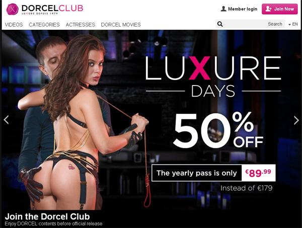 Dorcel Club Discount Form