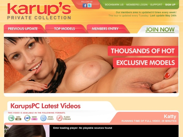 Karups Private Collection Segpay Discount
