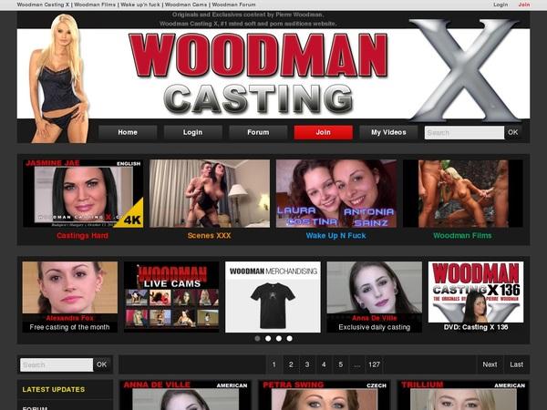 Premium Accounts Woodman Casting X