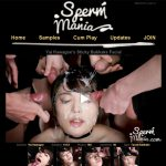 Sperm Mania Order Page