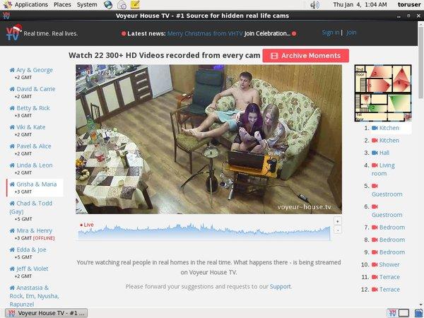 Voyeur House TV Full Video