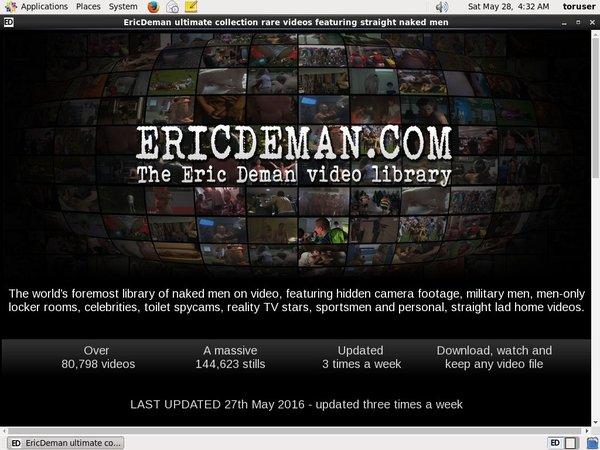 Ericdeman Coupon Deal