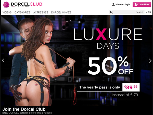Try Dorcel Club Free