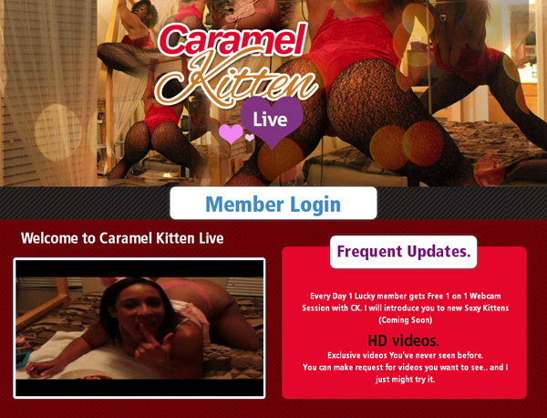 Caramelkittenlive.com Limited Rate