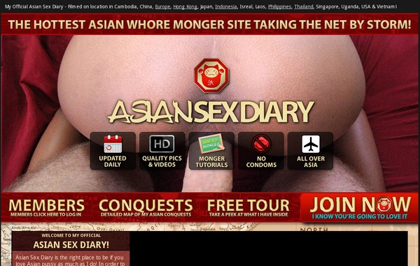 Asiansexdiary.com Limited Offer