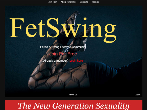 How To Get Fetswing.com Account