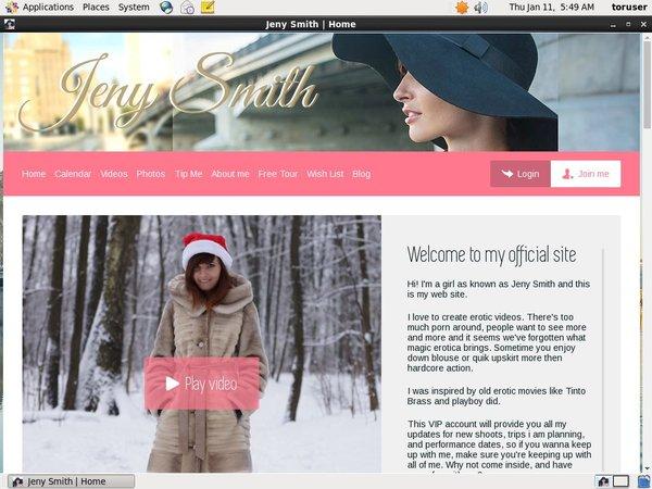 Jeny Smith Paypal Sign Up