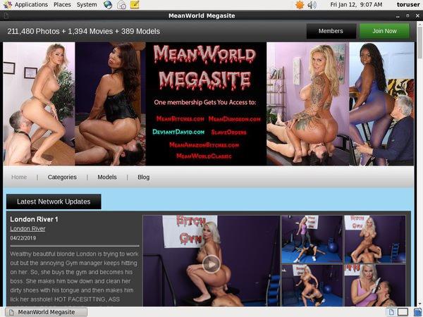 Mean World MegaSite Promo Id